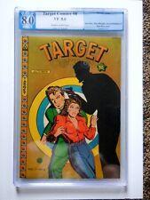 1946 Novelty Target Comics Vol. 7 #8 PGX VF 8.0
