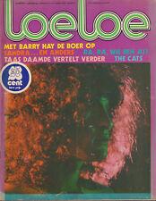 MAGAZINE LOELOE 1974 nr. 02 - BARRY HAY (GOLDEN EARRING) / SANDRA / THE CATS