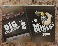2008 Southern Illinois Miners Frontier League Pocket Schedule
