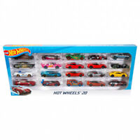 Hot Wheels 900 - Die Cast Multi Pack 20 x 1:64 Scale Toy Cars - Multicoloured