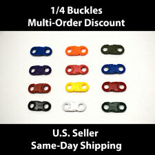 1/4 Plastic Curved Side Release Buckles for Paracord & Crafting US SELLER