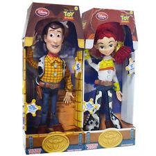 1PC TALKING TOY STORY WOODY OR JESSIE DOLL KID ACTION FIGURE FIGURINES SET GIFTS
