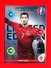 EURO FRANCE 2016 - Adrenalyn Panini - Card Limited Edition - RONALDO - PORTUGAL