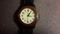 SWISS ARMY CLASSIC RED RING VINTAGE WATCH