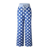 Plus Size Womens Yoga Wide Leg Palazzo Pants High Waisted Long Loose Trousers