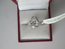 GENUINE STERLING SILVER DRESS RING SIZE S