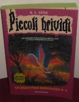 1 LIBRO HORROR RAGAZZI STIRNE PICCOLI BRIVIDI-3/UN BARATTOLO MOSTRUOSO + ADESIVI