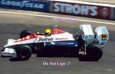 Ayrton Senna Toleman TG184 Dallas Grand Prix 1984 Photograph 1