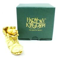 HARMONY KINGDOM Figurine SOLEMATE Dog In Shoe MADE IN ENGLAND