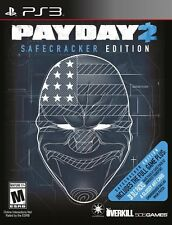 Payday 2 Safecracker Edition PS3 Great Condition Fast Shipping