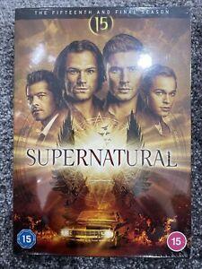 Supernatural: Season 15 - DVD - Brand New & Sealed - UK Stock