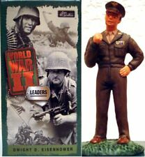BRITAINS 0284 DWIGHT EISENHOWER, BOITE LUXE SERIE LEADERS, 1/32e