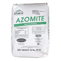 AZOMITE Powder Micronized Trace Mineral Volcanic Ash Rock Dust Powder 44 LB