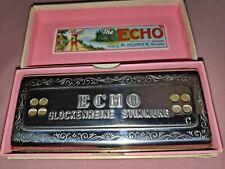 M.Hohner The Echo Harp 64 CG Mundharmonika Glockenreine Stimmung Made in Germany