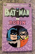 BATMAN AND ROBIN [CAPED CRUSADER CLASSICS] 1988 TITAN PAPERBACK BOOK
