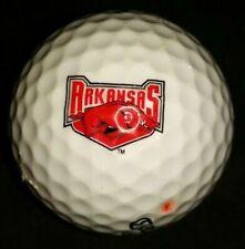 (1) Arkansas Razorbacks College Logo Golf Ball, Callaway #2 Warbird.
