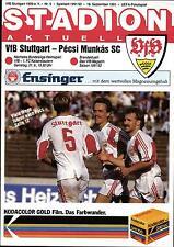 EC III 91/92 VfB Stuttgart - Pecsi Munkas SC (Hungary), 18.09.1991