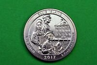 2017-D   BU  Mint State  ( Ellis Island ) US National Park Quarter