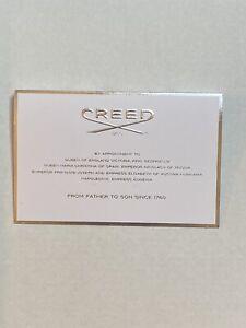 CREED White Amber  2 ML Original Carded SPRAY VIAL