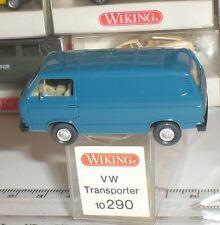 WIKING 10 290 VOITURE VOLKSWAGEN VW TRANSPORTER FURGON ECHELLE 1:87 HO NEW OVP