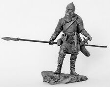 Tin toy soldier Ottoman Heavy Spearman. Metall sculpture 54 mm