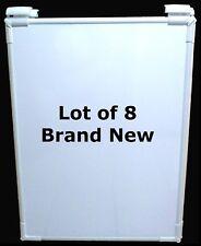 8 New Steelcase Premium Huddleboard Whiteboard Markerboard + Grabbers 23.5 x 32