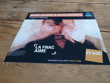 DEPECHE MODE - DAVE GAHAN & SOULSAVERS !!!!!!FRENCH DISPLAY / PLV 30 X 30