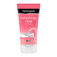 Neutrogena Daily Exfoliator Facial Wash Enriched Vitamin C Purifies Blemish Skin