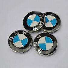 4Pcs 68mm BMW New OEM Emblem Logo Badge Hub Wheel Rim Center Caps MPN36136783536