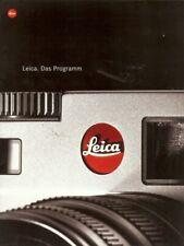 Broschüre Leica Das Programm Technische Daten
