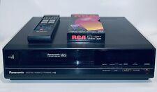 Vtg Panasonic Pv-4720 Vcr Vhs 4 Head Player Recorder Omnivision 1987 W/Remote