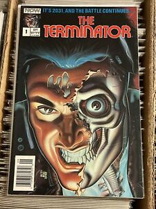 THE TERMINATOR #1 NOW COMICS 1988 KEY BOOK 1st APP IN COMICS cult classic series