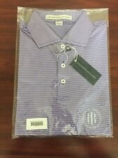 Holderness & Bourne Perkins Polo Shirt Spinnaker L Brand New in Plastic NWT Golf