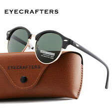 427d6c9b8d7 Fashion Vintage UV400 Outdoor Shades Women Mens Retro Round Polarized  Sunglasses