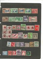 BEST MIX .séries de timbres TRINIDAD+BELGE+RSA .2scans