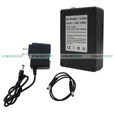 DC 12V 9800mAh Portable Rechargeable Lithium-ion Battery Pack for Loudspeaker