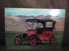 1909 Ford Touring Collectible Postcard Part of Harrah's Autocard