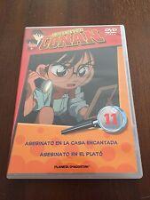 DETECTIVE CONAN DVD 11 - 1 DVD - 2 CAPS - 50 MIN - JONU MEDIA PLANETA DEAGOSTINI
