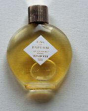 Eau de Parfum miniature ancienne Lalique JE REVIENS WORTH haut 4,8 cm