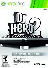 NEW SEALED DJ Hero 2 XBOX 360 Video Game iyaz nelly eminem pitbull justice kanye