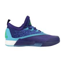 ADIDAS CRAZYLIGHT 2.5 Active Blu & Neon Uomo Basket Scarpe