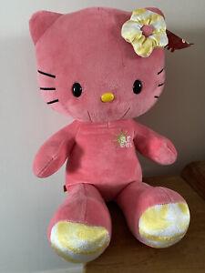 "💕 Build A Bear Hello Kitty Sunshine Limited Edition Soft Plush Toy 18"" 💕"