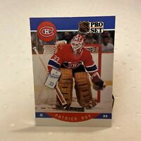 NHL Pro Set Hockey Card Patrick Roy Montreal Canadiens