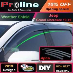 Proline Jeep Grand Cherokee 10-19 Weathershields Window Visors Weather Shields