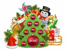 Personalized Family Christmas Tree, Fabric Transfer, Clipart, Ready for Printing