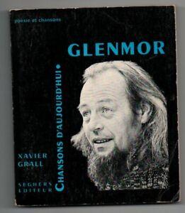 GLENMOR Dédicacé par Xavier Grall auteur - Seghers Chansons aujourd'hui Bretagne