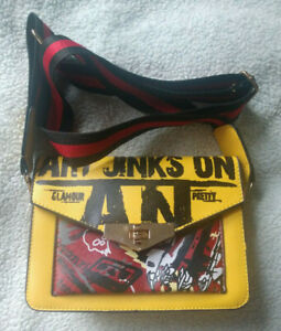 Punk Purse Yellow Clutch - Art Jinks Glamour