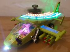 ARMY HELICOPTER AIRWOLF STUNT & BUMP & GO CAR LED LIGHTS SOUNDS BOYS GIRLS TOYS
