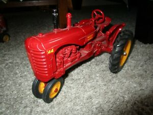 Agco Massey Harris Ferguson Farm Toy Tractor 44 displayed only maker unknown