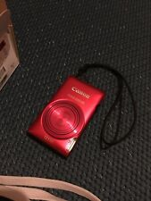 Canon IXUS 220 HS Red (12.1MP, 5xOptical Zoom) 2.7 inch LCD Digital Camera